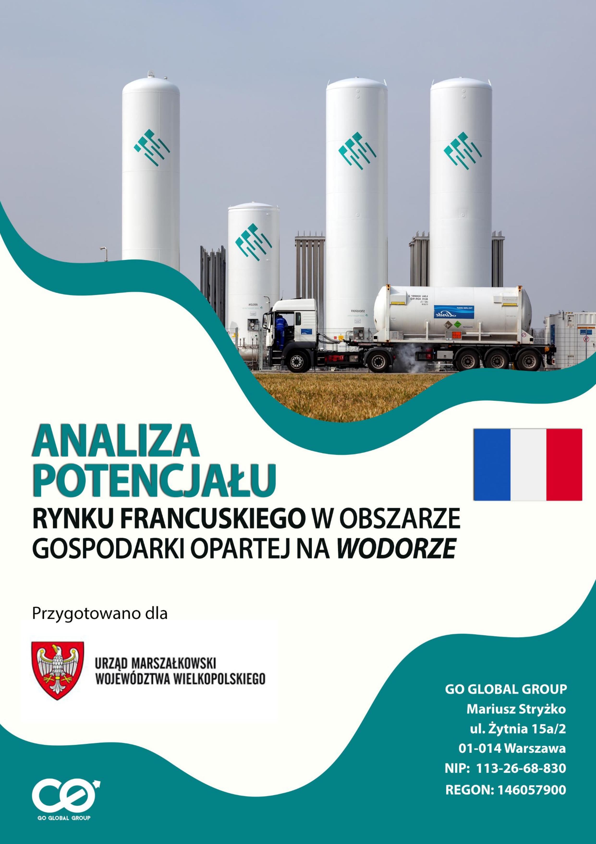 Analiza potencjału rynku francuskiego w obszarze gospodarki wodorowej