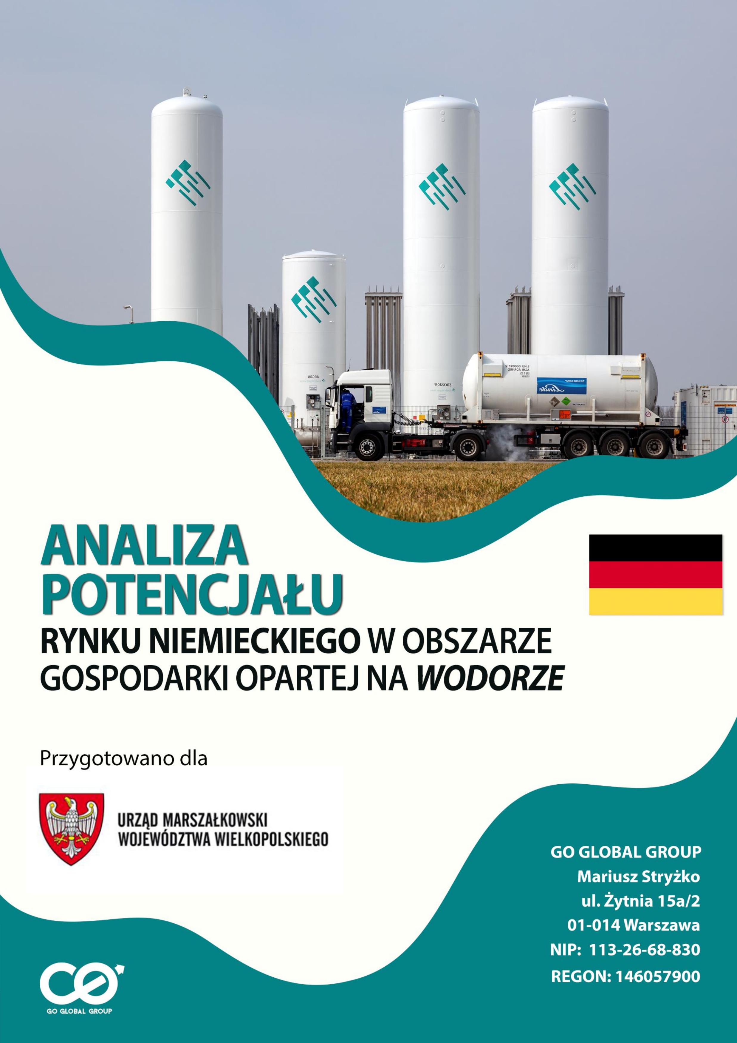 Analiza potencjału rynku niemieckiego w obszarze gospodarki wodorowej