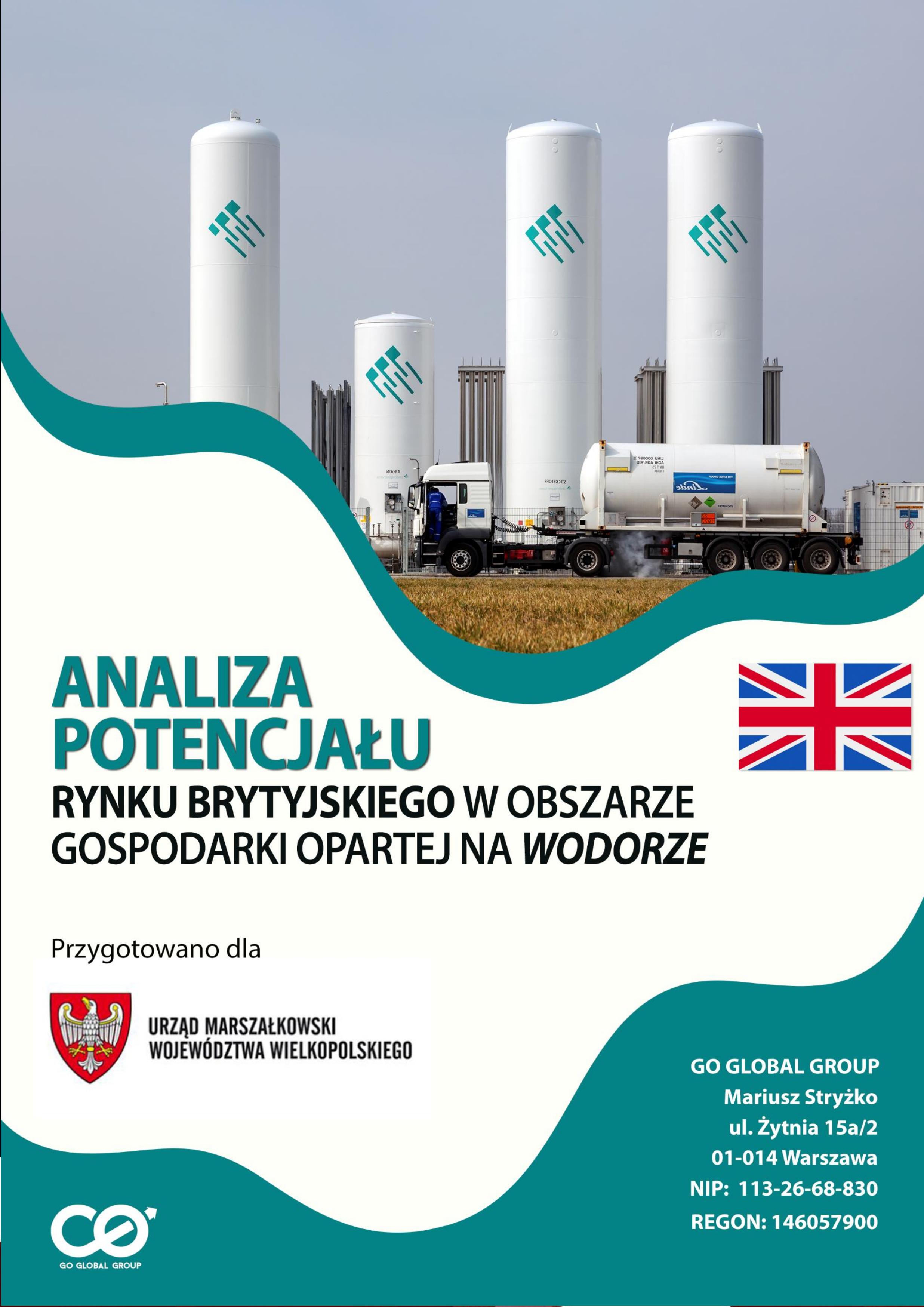 Analiza potencjału rynku brytyjskiego w obszarze gospodarki wodorowej