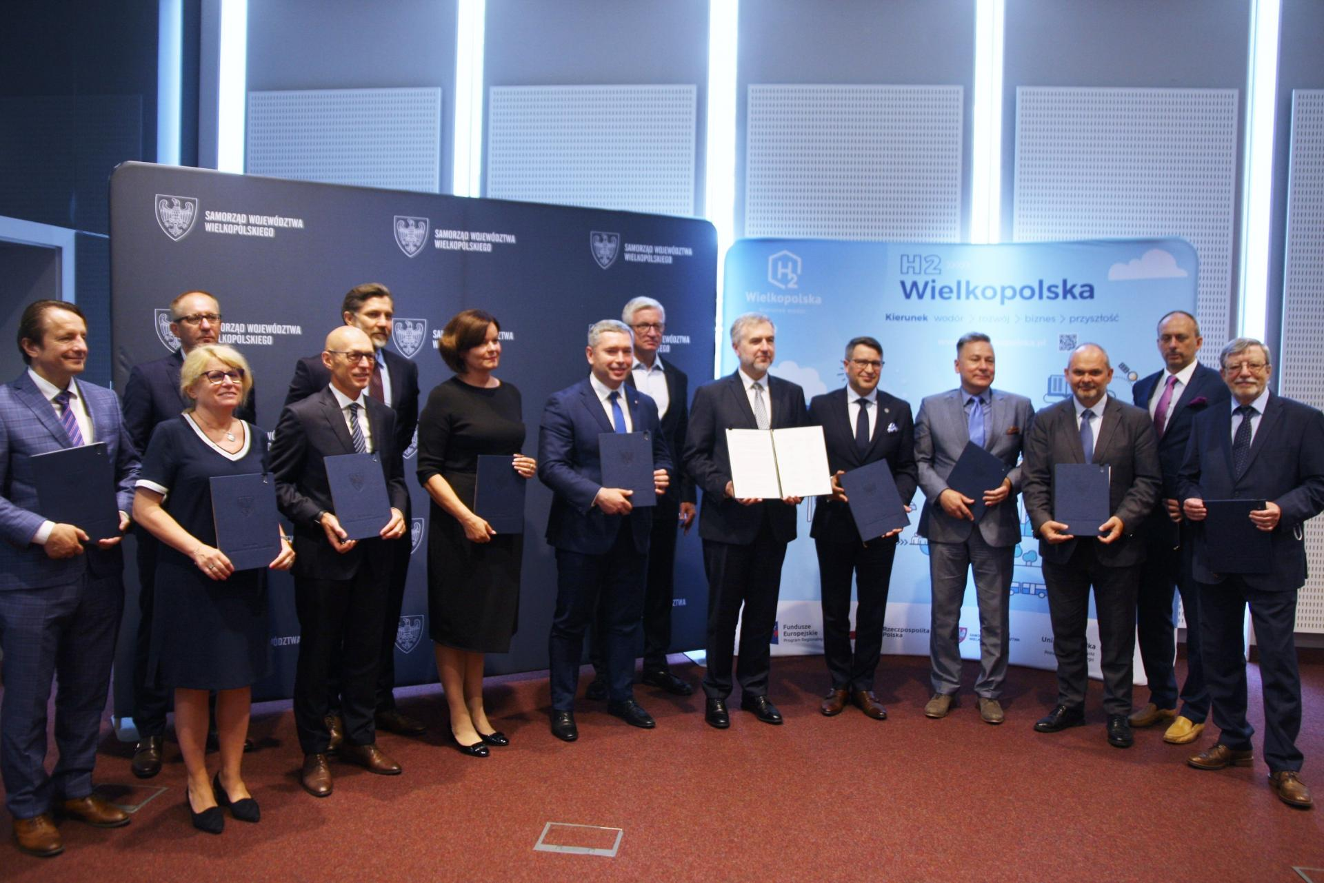 Podpisanie Deklaracji o woli powołania Wielkopolskiej Doliny Wodorowej
