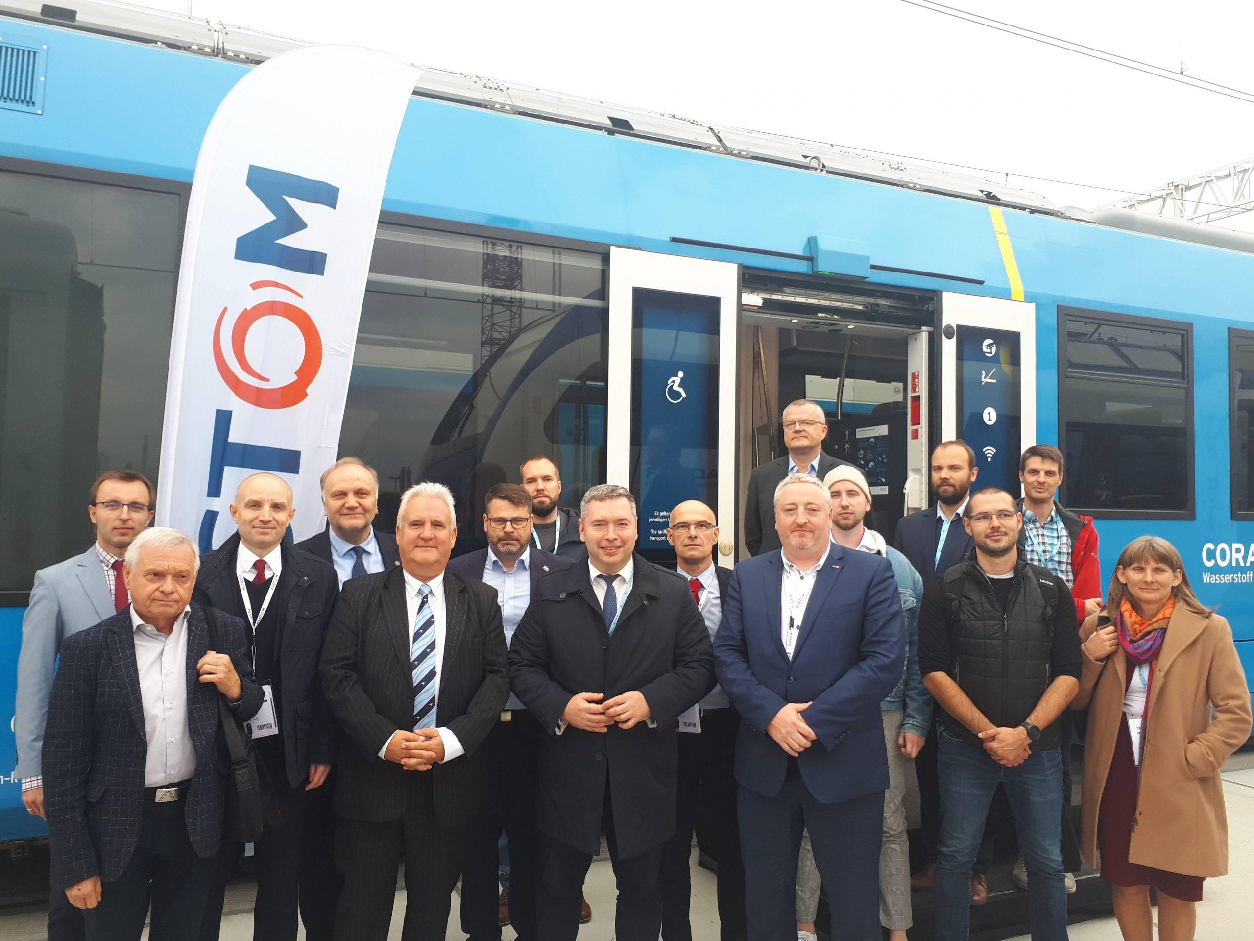 Posiedzenie Wielkopolskiej Platformy Wodorowej w Coradia iLint