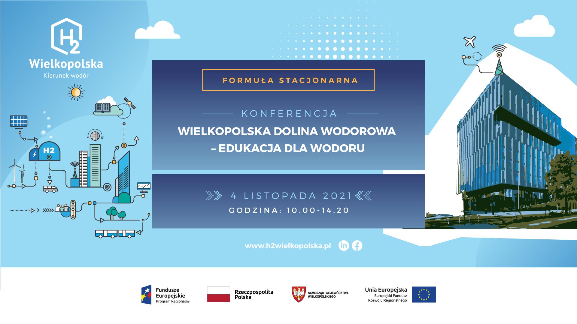 """Konferencja """"Wielkopolska Dolina Wodorowa – Edukacja dla wodoru"""""""